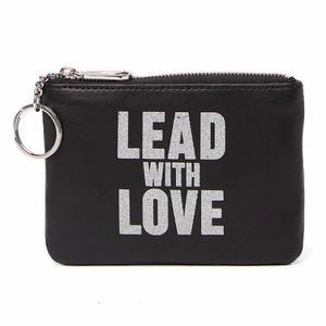 "REBECCA MINKOFF *NWT* Betty ""Lead With Love"" Pouch"